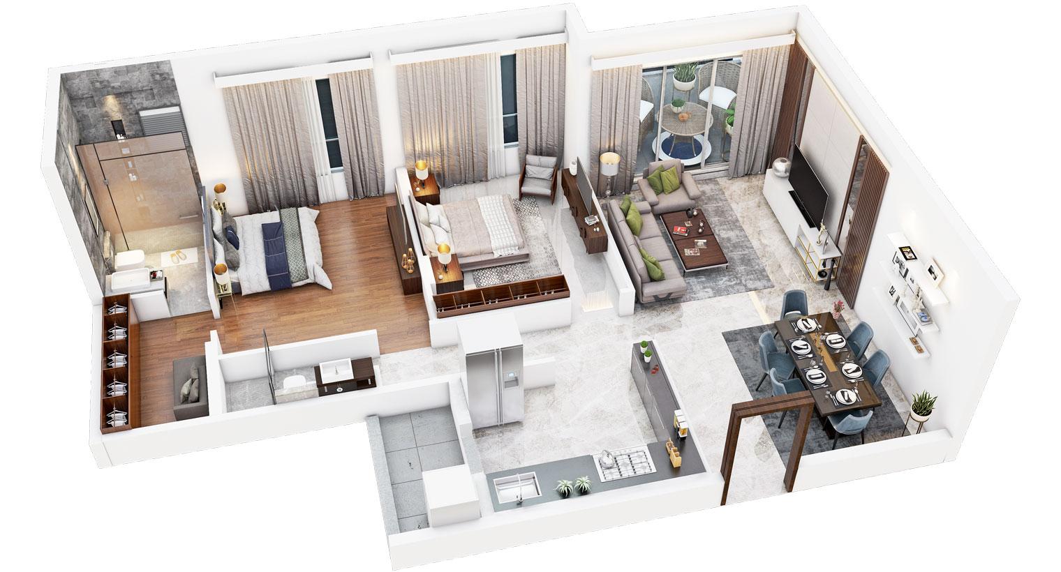 Apartment's Virtual View